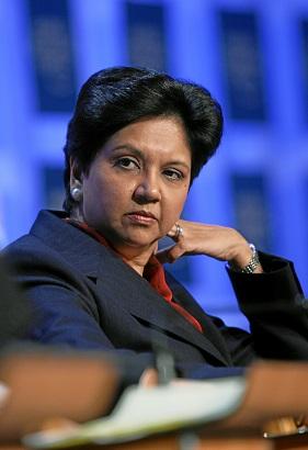 Indra Nooyi, Chairperson and CEO, PepsiCo